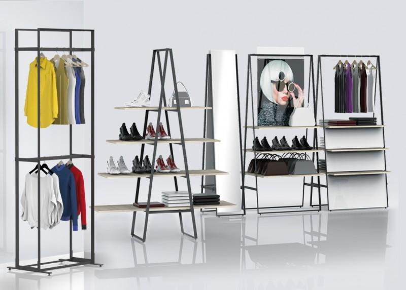 Freistehende Präsentation Fashion & Uhren/Schmuck - null
