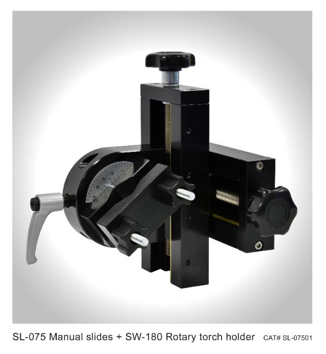 Welding torch slider, manual sliders, motorized slider - ProArc SL series