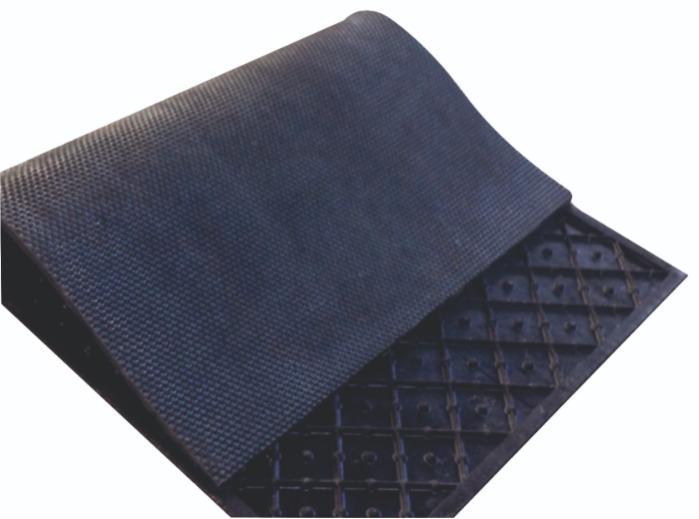 Viyol Tip Mat - Altı viyol, üst kısmı nohut desenli ultra esnek mat