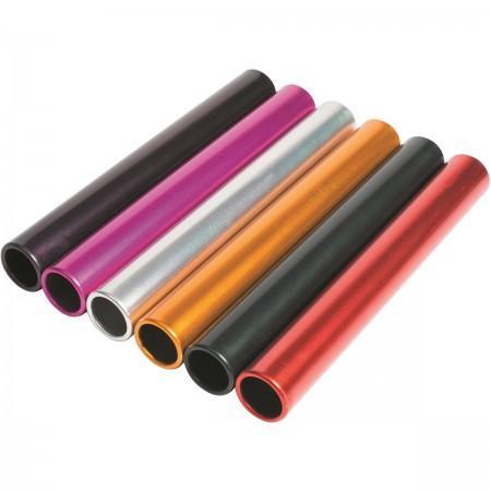 Aluminium Relay Batons - Set of 6 colors - Sports