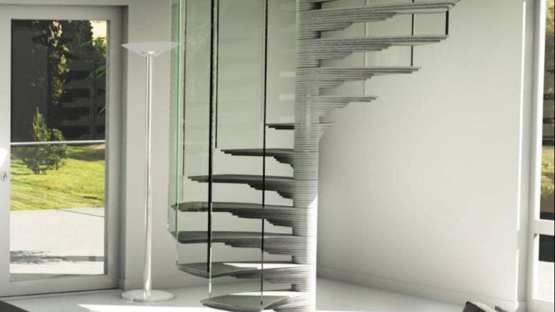 Concrete stairs - Sky-Screw concrete
