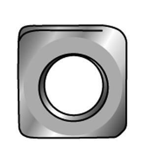 Vierkantmuttern, niedrige Form - Material A2 | A4