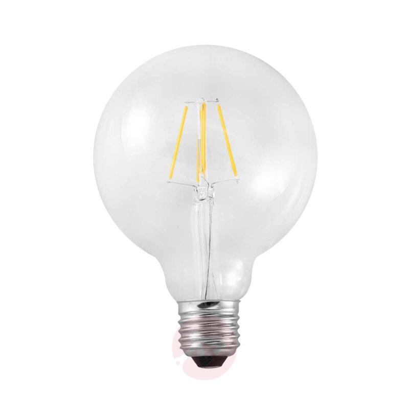 E27 4W 827 LED globe lamp G95 carbon filament look - light-bulbs