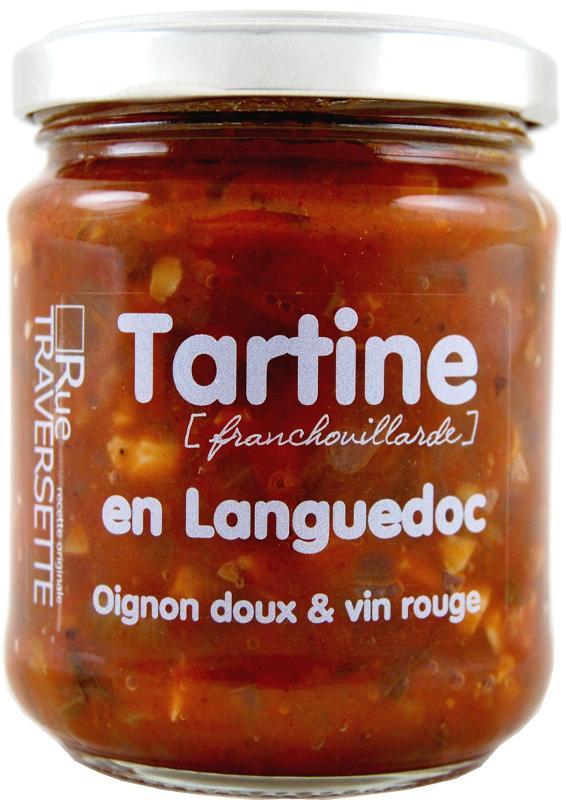 Tartine Franchouillarde en Languedoc 185g - Epicerie salée
