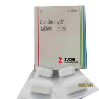 Clarithromycin Tablets  - Clarithromycin Tablets