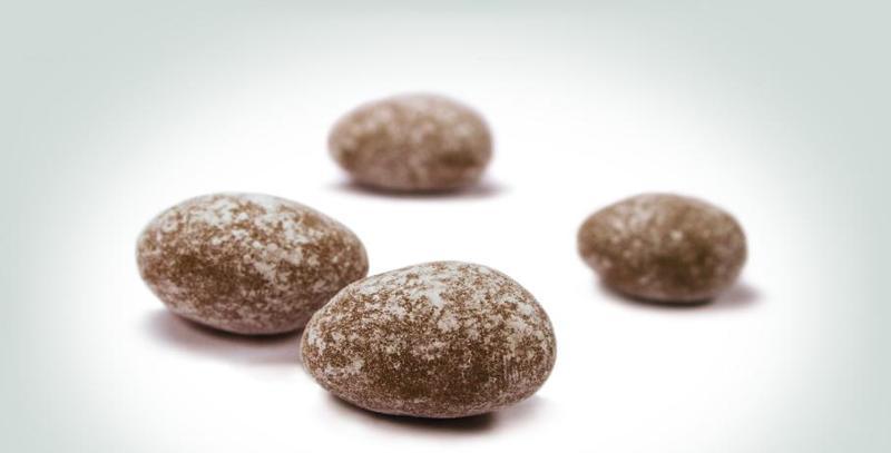 Snacks - Snow almonds: powdered delicacies.