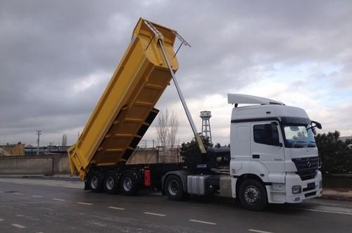 tipper semi trailer