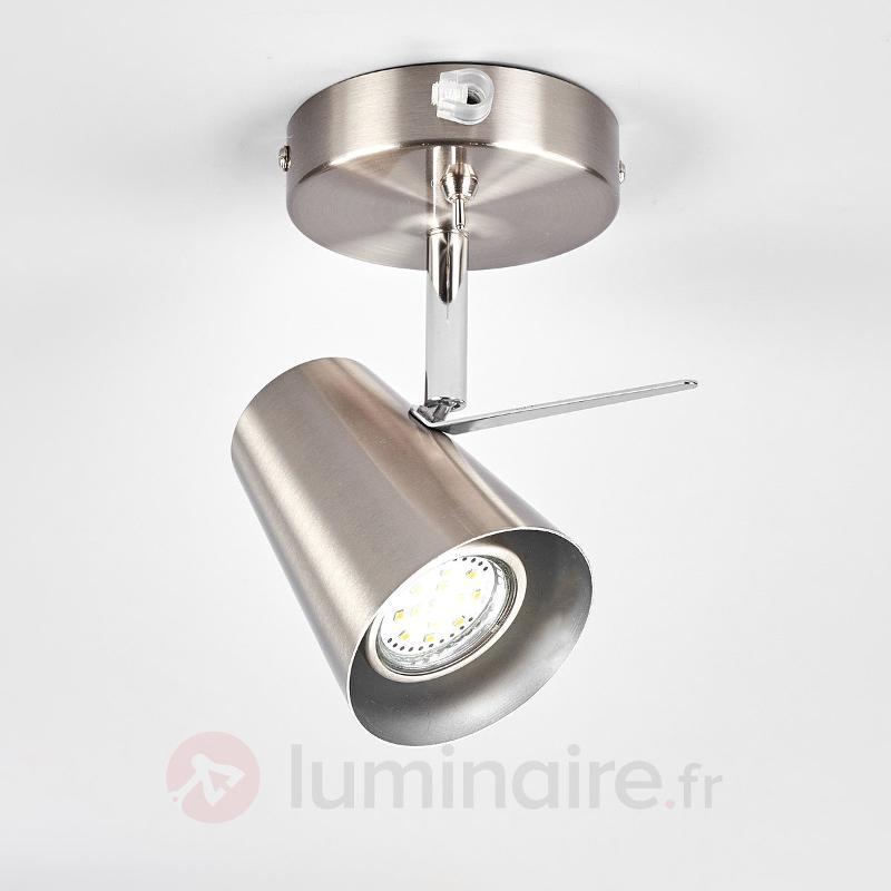 Attrayante applique en métal Jordina, LED GU10 - Spots et projecteurs LED