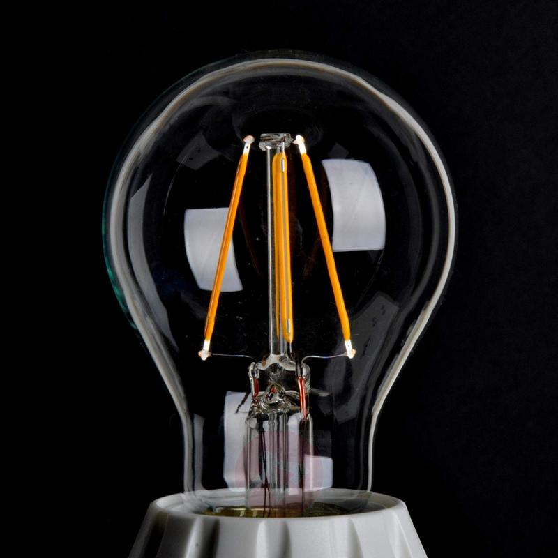 E27 4W 827 LED bulb, clear - light-bulbs