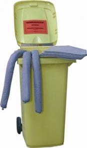 Kit Absorbant Hydrocarbures - 265 Litres - KH265-Kit absorbant hydrocarbures