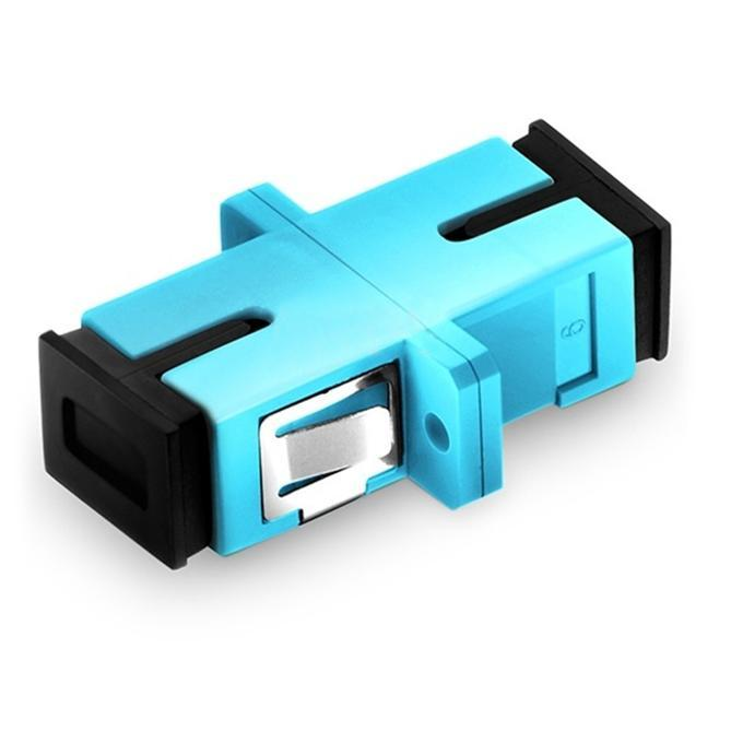 Simplex Om3/om4 Fiber Optic Adapter With Flange - null