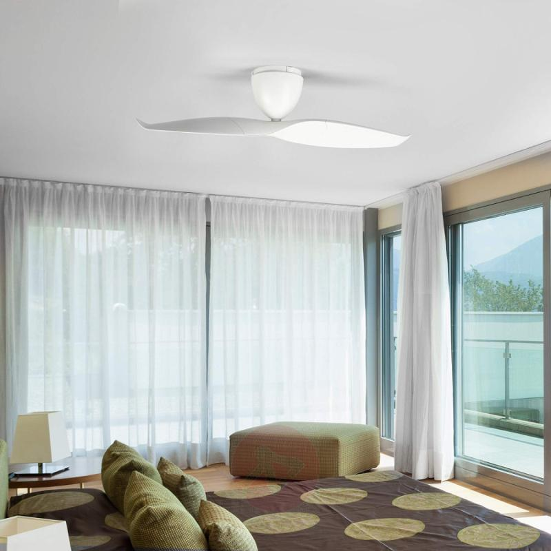 White ceiling fan Wave 109.2 cm - fans
