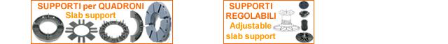 Supporti - regolabili