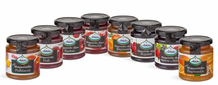 JAMS  - FOREST FRUIT, APRICOT, STRAWBERRY
