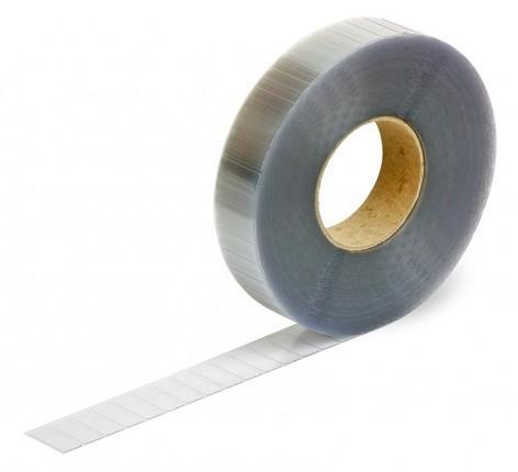 closure pads, transparent, 30x12mm - made from Steierform 87-15828