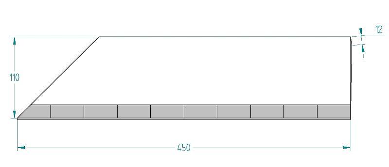 Mise De Soc 10 Plaquettes Type Mds 110*12, Mds Pour La Grande Culture - Mises de socs