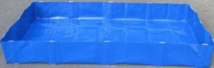 Bac De Rétention Souple Pliable - 250 Litres - Bac Occasionnel - BRSO 250-Bacs de rétention souple pliables de 250 à 7200 litres