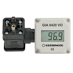 GIA 0420  - plug-in display now with M12 connection