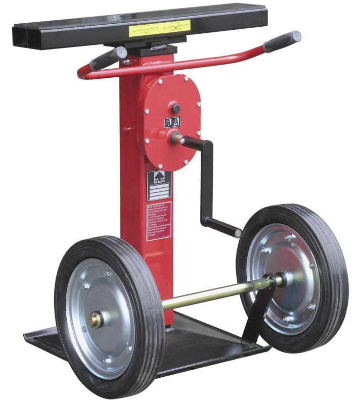 Support winch for semi-trailers - max. 15 000 kg - Support winch for semi-trailers for loading and unloading semi-trailers. 15 t