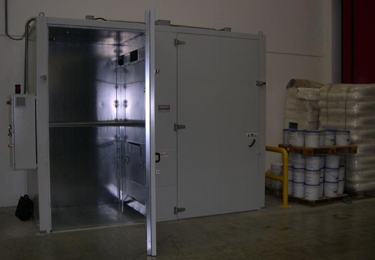 16 Drum/4 IBC Heating Oven