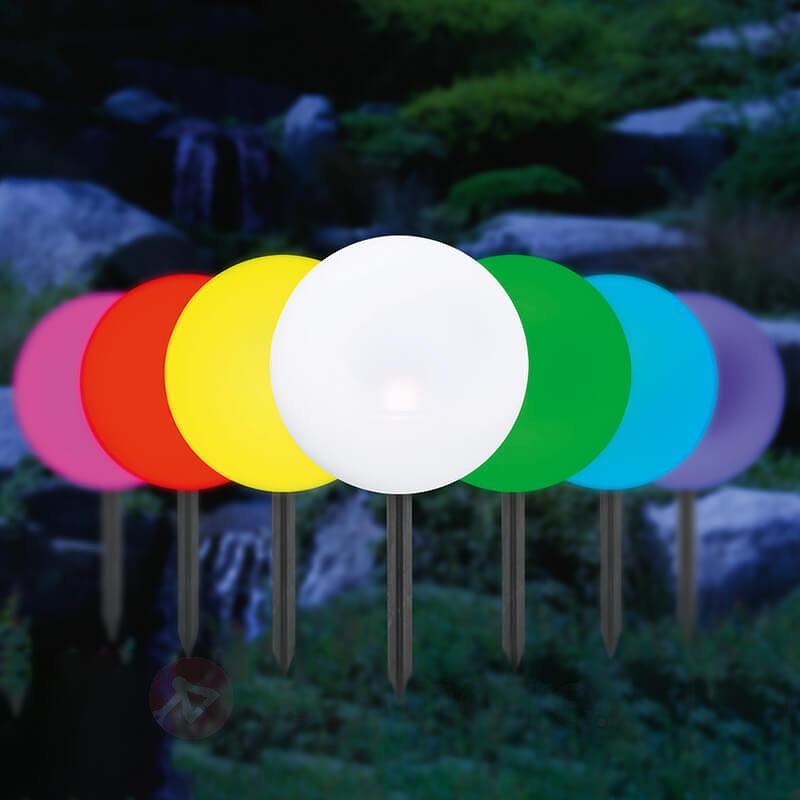 Boule lumineuse solaire, changement de couleurs - Lampes solaires décoratives