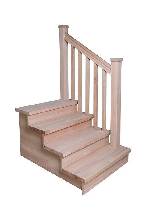 Oak and beech stairparts -
