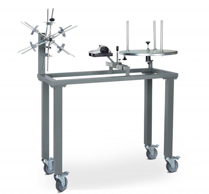 MESSROL 450 Umwickelgerät für Kabel, Umwickler manuell - Manuelles Umwickelsystem fahrbar