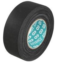Rayon-Gewebeband, schwarz, hoher Tack - AT123
