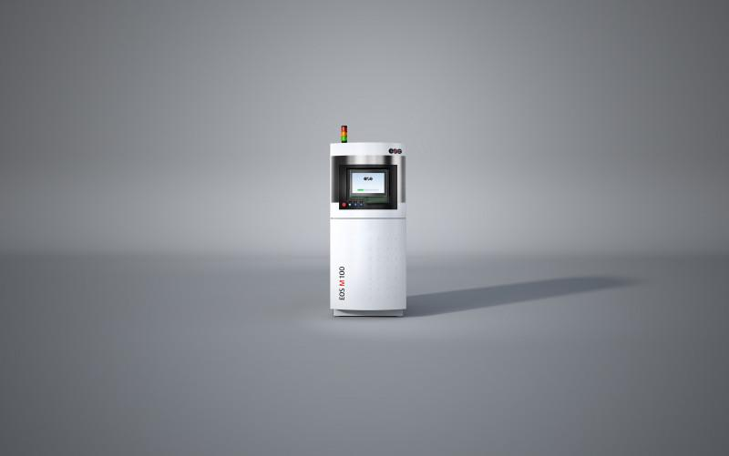 EOS M 100 - Ideal entry level model for industrial 3D printing of complex metal parts.