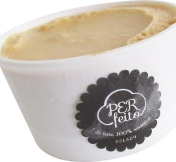 Crème glacée artisanale à la confiture de lait