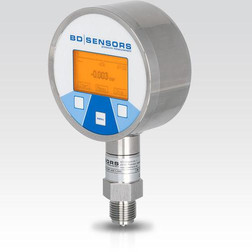 Digital Pressure Gauge DL 01 - digital pressure gauge / electronic / process / stainless steel