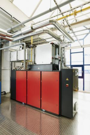 Compressed-air-and-heat system - Compressed-air-and-heat system