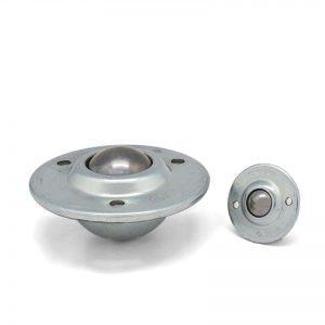 Kugelrolle versenktem Stahlblechgehäuse - Kugelrolle mit versenktem Stahlblechgehäuse (Saturn-Kugelrolle)