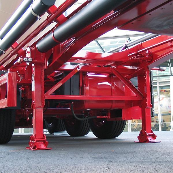 Absattelstütze S2000 Plus Mega - Absattelstütze, kurze Bauform, stat. Last 50 t, dyn. Last 24 t,