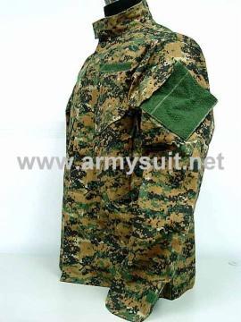 USMC Digital Camo Woodland V3 BDU SF Field Uniform - PNS3002