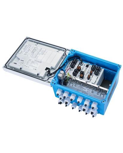 Transmetteur 8 voies Liquiline CM448 - Analyse Transmetteur multiparamètre numérique