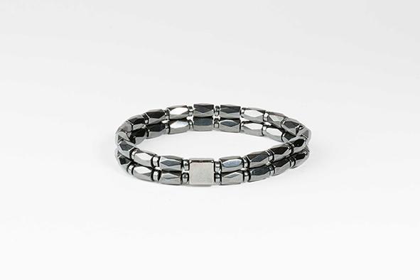 Hematite bracelet - Beaded Bracelet for men made of hematite