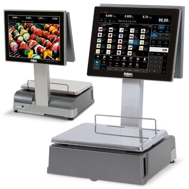 Serie CS-1100 - Balanzas PC con impresora de tickets y/o etiquetas
