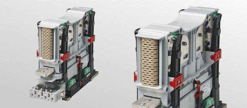 CP – Modular, bidirectional and compact switchgear - Configurable as NO/NC contactor, disconnector or changeover switch