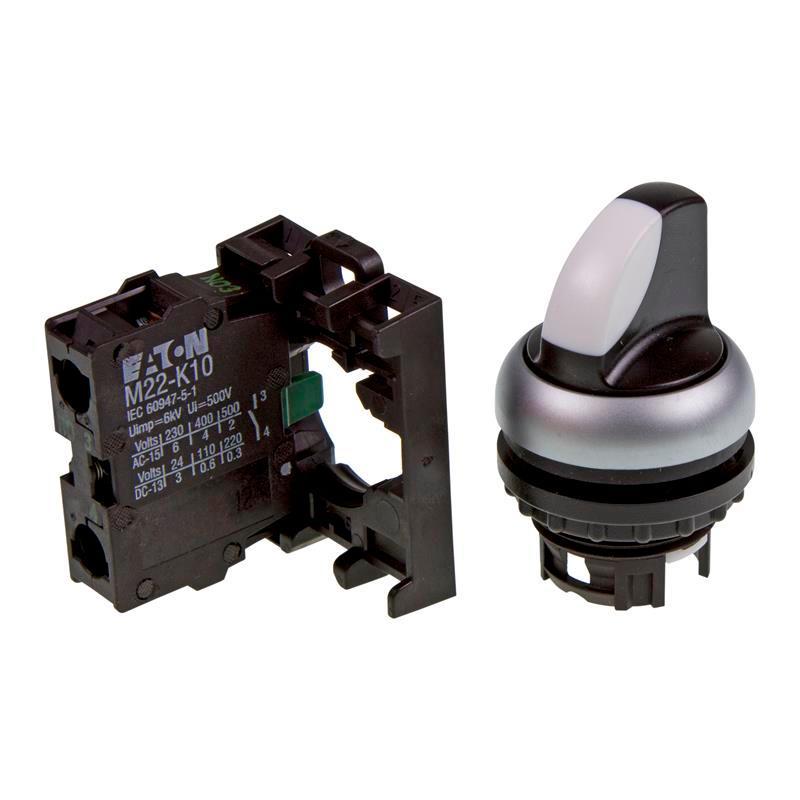 Bouton sélectionneur appareil complet Eaton 216518 - M22-WRK/K10 - null