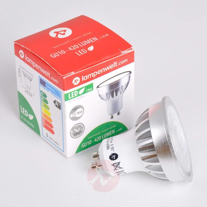 GU10 5 W 830 LED reflector 55° - light-bulbs