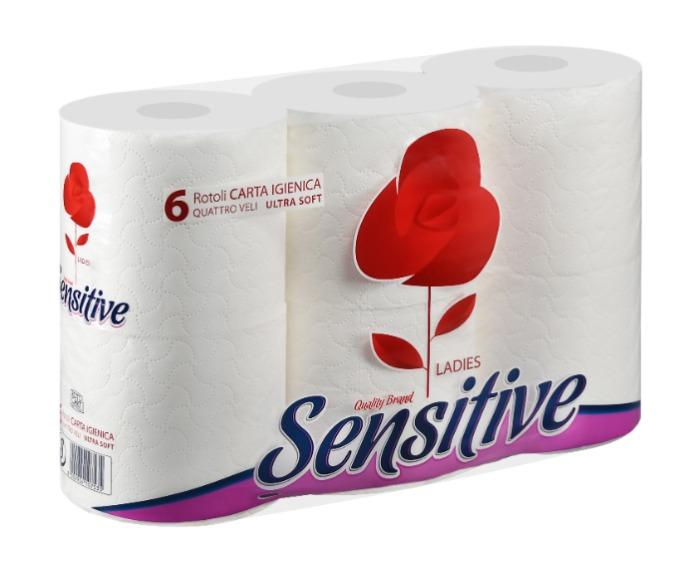 Carta Igienica, pannocarta, fazzoletti Sensitive Ladies - prodotti super