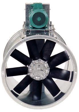 Ventilateurs axiaux à transmission