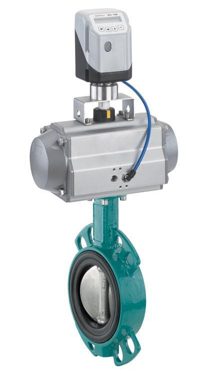 GEMÜ 481 - Válvula de mariposa de accionamiento neumático