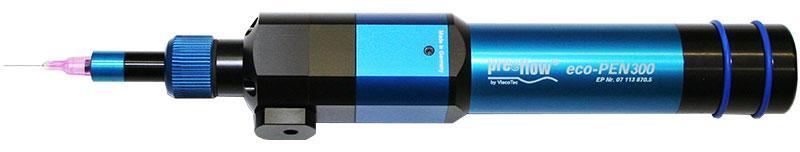 Precision volume dispenser eco-PEN300 - for 1-component materials / microdosing