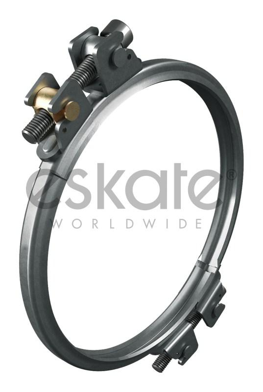 Clamping ring 2-part for edge sealing - Clamping ring 2-part for edge sealing