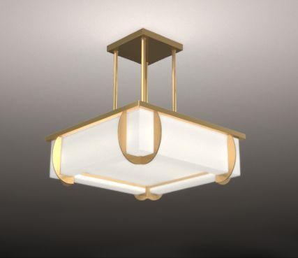 Art deco ceiling lights model 353 s ateliers jean perzel france art deco ceiling lights model 353 s mozeypictures Images