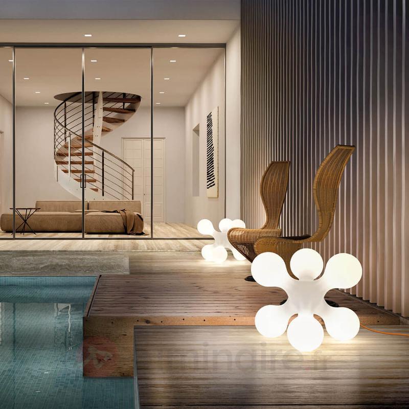Borne lumineuse individuelle Atomium - Lampes d'extérieur design