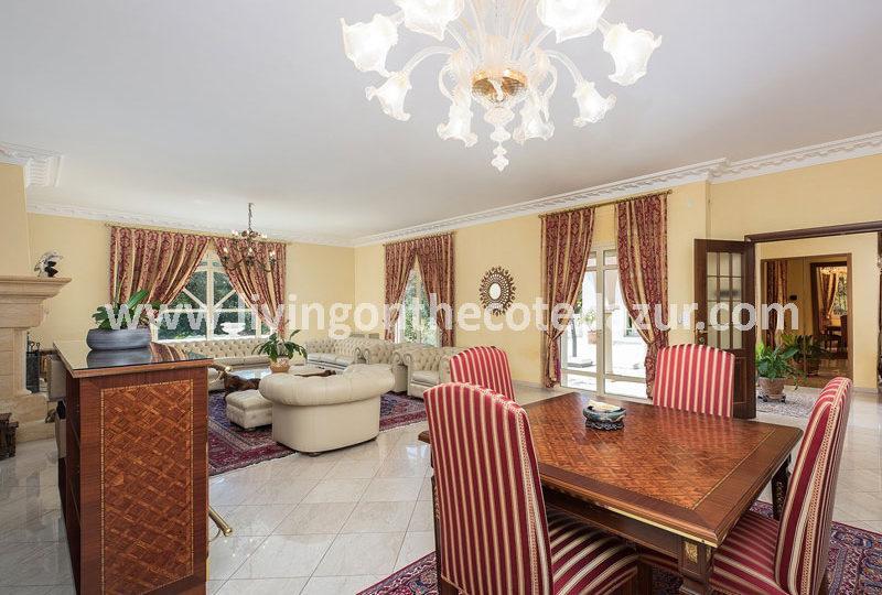 Spacious luxury villa for sale La Colle sur Loup - Real Estate