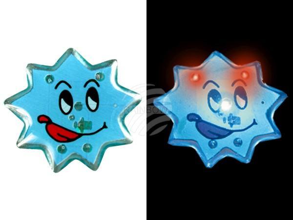 Blinki Blinker blau Motiv: Stern - null